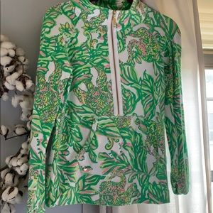 Lilly Pulitzer seeing pink Elephants popover